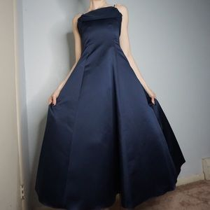 Gorgeous Royal Blue Prom Gown